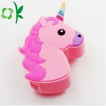 Monedero de silicona unicornio personalizado al por mayor para niñas