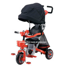 Eco-Friendly Kids Luxury Tricycle with Canopy (SNTRA-1A)