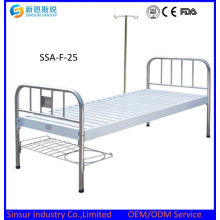 Hot Sale! Metal Head/Foot Flat Medical Bed/Hospital Bed
