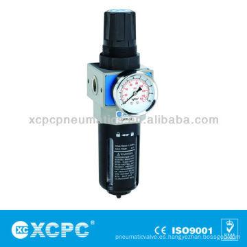 Unidades de tratamiento de fuente-XUW seris combinación de filtro y regulador de aire preparación unidades de aire filtro de aire