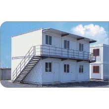 Портативный передвижной собранный дом контейнера (сайт kxd-pH1380)