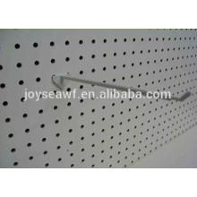 melamine one side waterproof mdf peg board