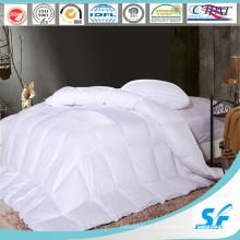Linge de lit en coton blanc naturel