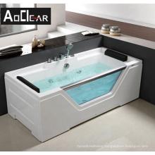 Aokeliya classical acrylic square safe Whirlpool bath tubs bathtub