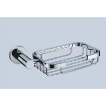Panier populaire CX-050 de savon d'acier inoxydable de finition de chrome de conception sanitaire