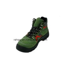 Cuir suédé & Oxford tissu chaussures de sécurité avec Mesh doublure (HQ05068)