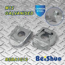 M12 Fixador Parafuso de fixação Galvanizado Malleable Ferked Beam Clamp Ba1g12