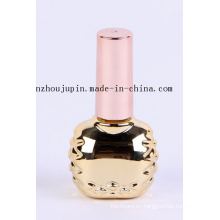OEM Fashion Cosmetic Plated Glass Nail Polish Bottle