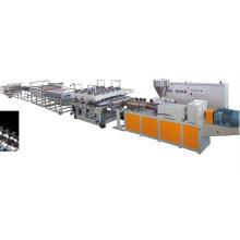 Neue WPC-Schaum-Brett-Verdrängungs-Maschine, hölzerne Plastikzusammengesetzte Verdrängungs-Maschine für Baumaterial