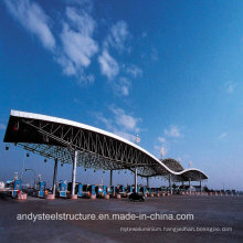 Low Cost and High Quality Space Frame Roofing for Toll Station