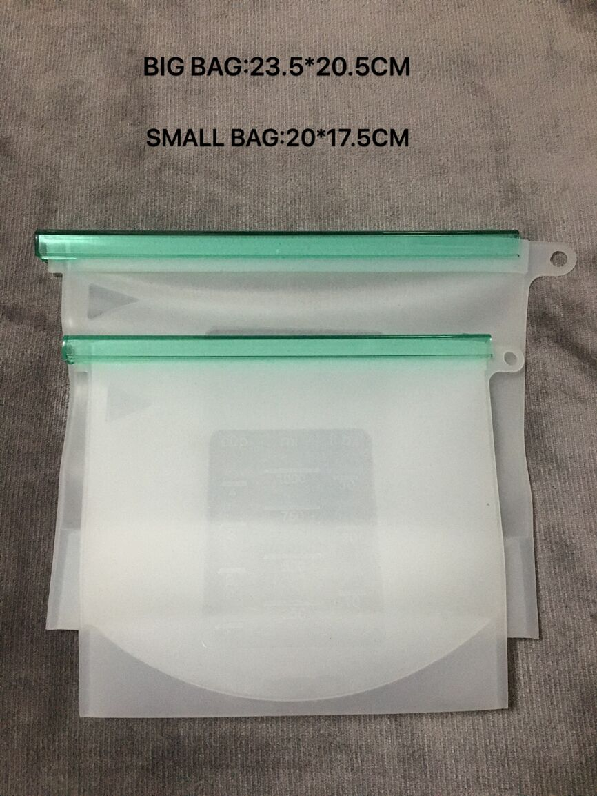 silicone bag 10