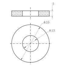 Piezo Ring Ultrasonic Cleaning Transducer 40KHz
