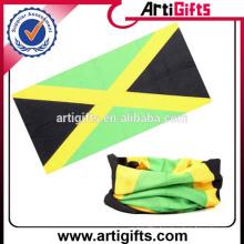Customized logo country flag bandana