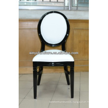 white and black style french louis chair for banquet rooms XY0715