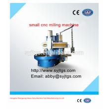 De bajo costo cnc pequeña fresadora precio C5123A para la venta en acciones ofrecidas por la fabricación de máquinas de fresado