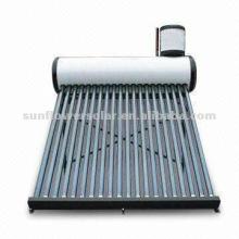Acier galvanisé Chauffe-eau solaire sans aspiration à vide sous pression