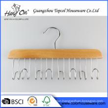 Deluxe wooden hanger for Tie/Belt