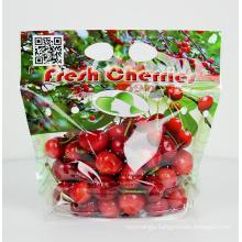 Customized Logo Transparent Plastic Bag Packaging Bag for Fruit Vegetable Fresh Keeping