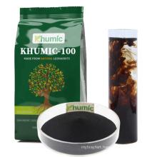 Humic acid for fertigation quickly Dissolve