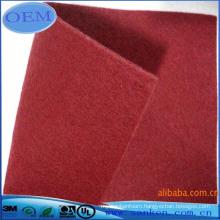 die cutting Polyester Felt Fabric sheet gasket