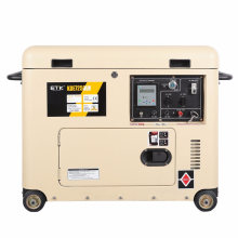 Air-Cooled 2- 7kw Portable Silent Diesel Generator (DG7250LN)