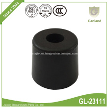 Amortiguador de puerta de goma cónica para acoplamiento de accionamiento flexible