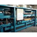 Линия по производству цветных стальных композитных панелей / кровельная машина для листового металла