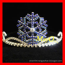 Cute snowflake pageant crown for kids
