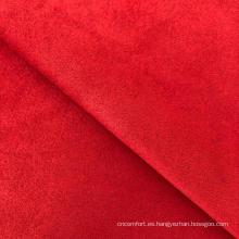 poliéster spandex tejido de gamuza teñida llano de buceo