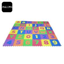 EVA-Matte pädagogische Alphabete und Anzahl Puzzlematte