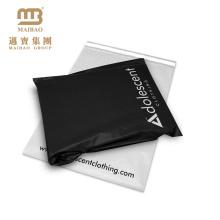 Le logo fait sur commande biodégradable de preuve d'autoprotection d'individu d'inviolabilité a imprimé les sacs en plastique d'expédition de vêtements en plastique