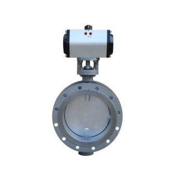 worm gear /turbine drive keystone butterfly valve