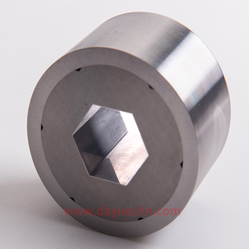 Troquel hexagonal de carburo de tungsteno