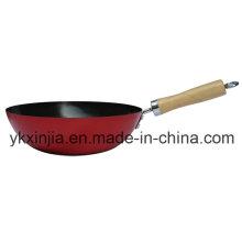 Utensílios de cozinha Mini Wok chinês para o mercado europeu Panelas