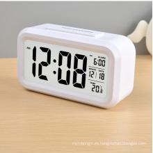 Reloj digital LCD con retroiluminación (LC830D)