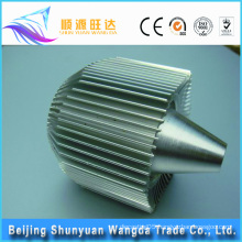 various types products for Auto Lighting System housing aluminum heat sink