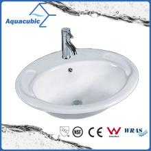 Bathroom Basin Above Counter Ceramic Sink (ACB023)