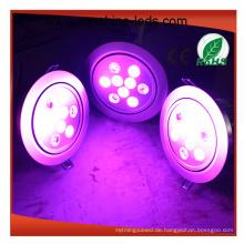 Runde / quadratische Shell der LED-Downlight