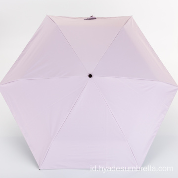 Pink Ultra Small Pocket Compact Travel Umbrella