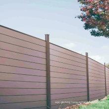 Outdoor Composite Garden Fencing Trellis Waterproof Anti-UV DIY WPC Fence
