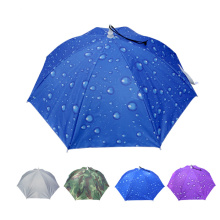 A17 kleiner Regenschirm wasserdicht Regenschirm Hut zum Angeln