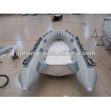 RIB 330 rigid inflatable fiberglass boat