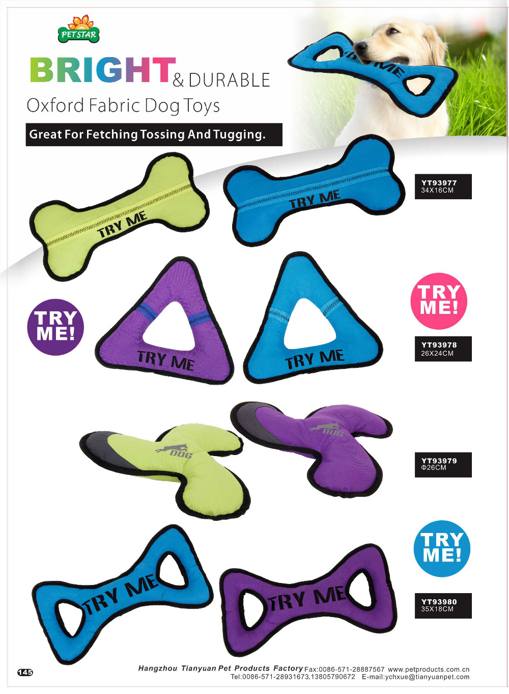 Eco-Friendly Natural Dog Teeth Cleaning Cotton Non Toxic Fetch Dog Toy