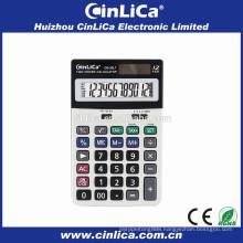 DS-20LT 12 digit office calculator scale, solar power calculator