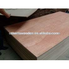 Shandong linyi 4.5mm bintangor preço da madeira compensada comercial