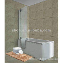 New style acrylic walk in bathtub for elderly and disabled of rectangle shape