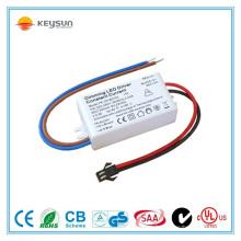 Pilote de lumière à ampoule LED 7W 24v conduit le courant constant du variateur