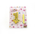 Cotton Wick Paraffin Number Birthday Cake Candle