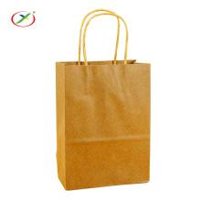 Meilleur prix d'emballage sac en papier kraft avec poignée