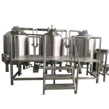 Complete SS304 5hl beer brewery equipment 500l brewing system
